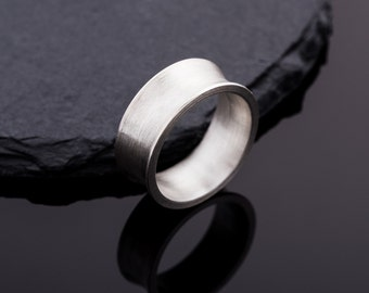 Handmade concave Ring Sterling silver//Ring Silver//Gifts for women//Friendship ring//Valentine's Day gift//handmade