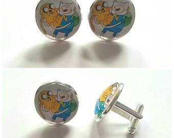 Adventure Time Cufflinks