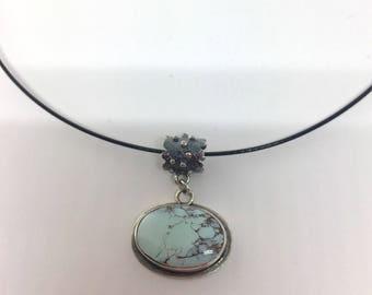 Gobi Lavender Turquoise Necklace