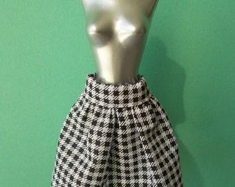 Handmade skirt for Momoko, Barbie, Poppy Parker, Pure Neemo S, Pullip (not suitable for Fashion Royalty, Blythe)