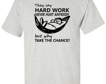Funny T-Shirt for Lazy Person