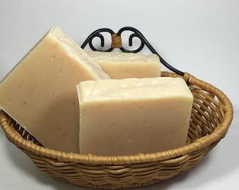 Handmade Lemon Verbena Goat Milk Soap