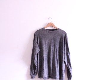 Speckled Grey 90s Shirt