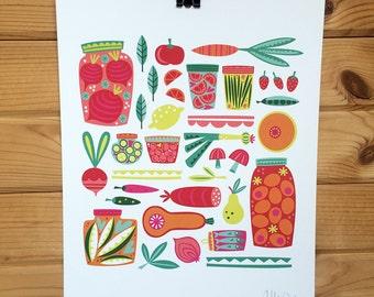Pickle Print