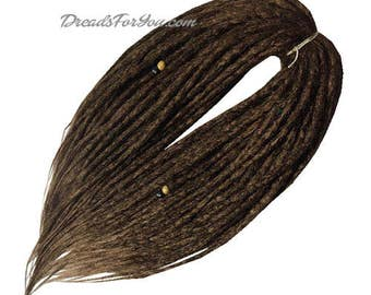 Big City Crochet Synthetic Dreads x20 or Full Set Single or Double Ended Dreadlocks DreadsForYou