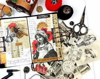 Victorian 1800's Illustration Ephemera Pack / Ephemera Pack / Vintage Ephemera/ Junk Journal Ephemera/ Vintage Magazine/ Collage