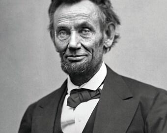 President Abraham Lincoln - 5X7 or 8X10 Photo (ZZ-100)