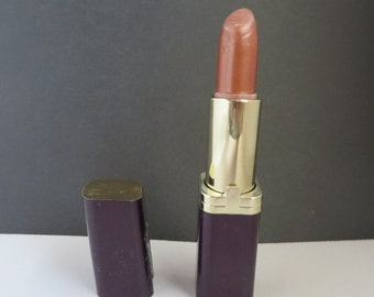 Cosmaire Lipstick, Vintage Lip Color, L'Oreal Lipstick, Cognac Color Lipstick, Collectors Cosmetics