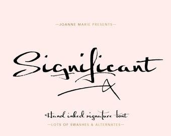 Font Dreamy Script Calligraphy Elegant