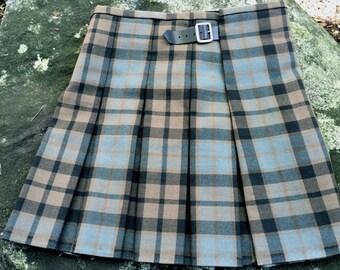Outlander Inspired Historical Box-pleated Scottish Kilt