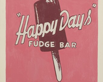Happy Days Fudge Bar