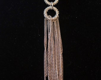 Silver Chair Necklace 026