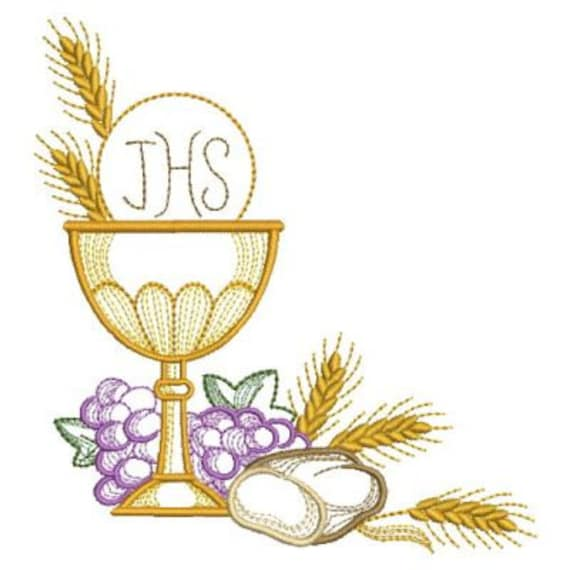 Communion holly chalice machine embroidery designs pack for Embroidery office design version 9
