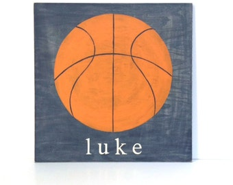 Wooden name sign personalized baby gifts tribal nursery personalized wood sign basketball room decor sports decor sports sign basketball sign negle Choice Image