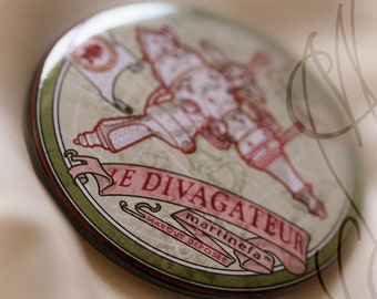 Insigne Steampunk « Divagateur »
