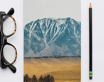 Les Sierras No 5631 / Blank Notebook, Blank Journal, Sketch Notebook, Journal, Writer's Notebook.