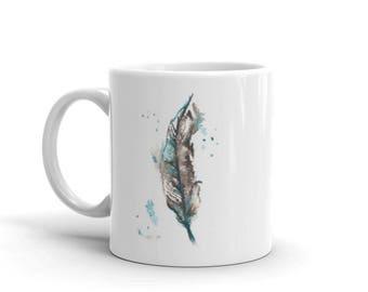 Feather Mug