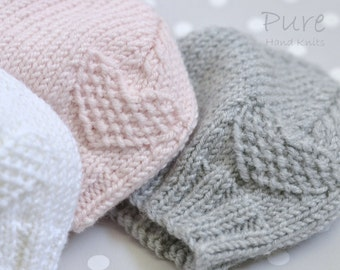 SIMPLE Preemie and Baby hat knitting pattern