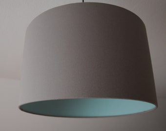 "Lampshade ""Gray-Mint"""