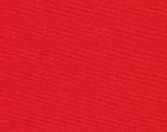 Kona Cotton Solid - Lipstick - 1 YARD - Robert Kaufman Fabrics K001-1194