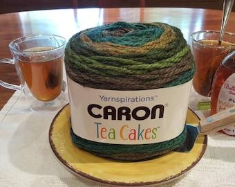 Caron Tea Cakes Green Tea Yarn