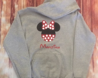 Disney hoodie(mickey& minnie)