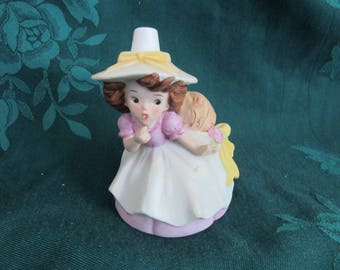 Vintage Lefton Little Girl Pin Cushion