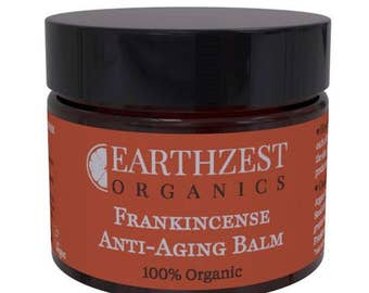 100% Organic Frankincense Anti-Ageing Balm by Earthzest Organics