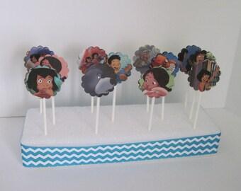 JUNGLE BOOK 2 - Disney Cupcake Toppers - Set of 12