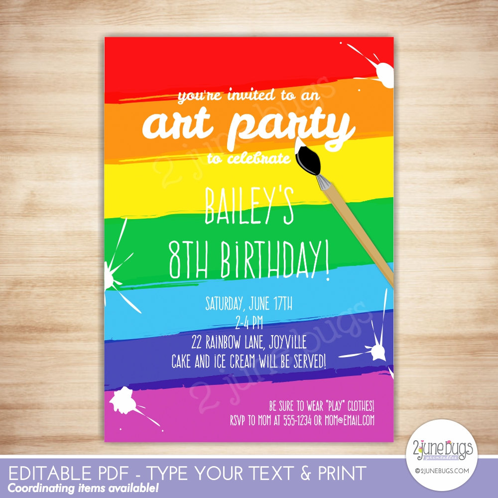 Party Invitations Template. Ballerina Party Invitations Template ...