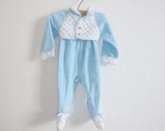 Vintage Baby Blue Sleeper