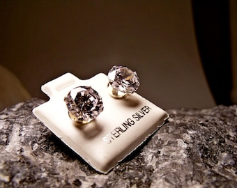 Sterling Silver Earrings with Cubic Zirconia RF134