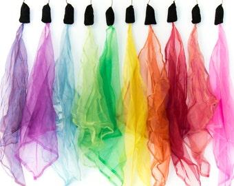 Shimmer Ribbon Poi