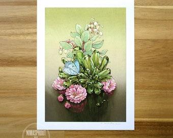 Spring Azure - Fine Art Print by Nicole Gustafsson