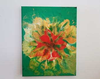 Orchid Fantasy (Abstract Acrylic #104)