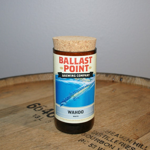 UPcycled Stash Jar - Ballast Point Brewing Co. - Wahoo Wheat