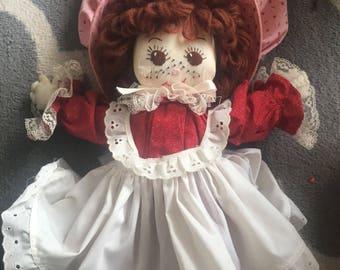 Strawberry Shortcake Doll Handmade