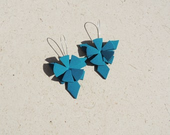 Turquoise earrings gift for her, turquoise earrings gift for women, teal earrings gift, aquamarine earrings gift, summer turquoise earrings