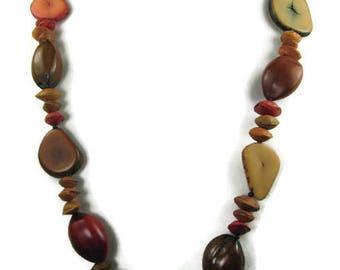 Vintage Nut Necklace