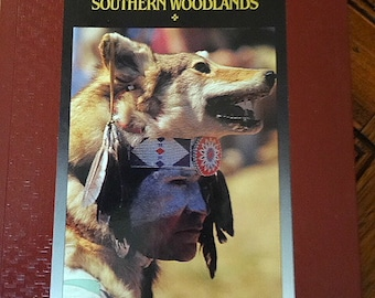 Native American Books Set of 2 Indians of California and Tribes of Southern Woodlands Time Life Books