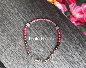 Rhondonite Allstone bracelet
