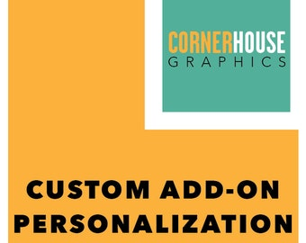 Custom Add-On Personalization