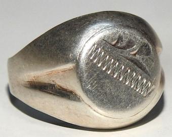 handmade 925 sterling silver men ring solid sterling silver ring