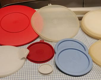 Tupperware Miscellaneous Lot of Lids