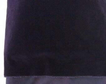 1/3 yard Elvis Presley Purple Vintage Velvet Fabric