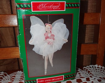 Vintage House of Lloyd Fairy Angel Ornament... Rare Find