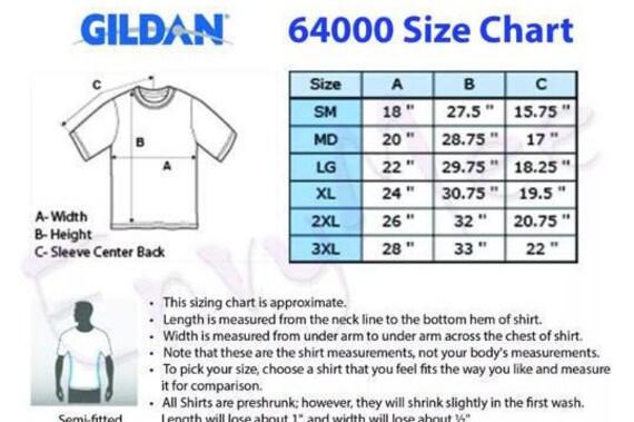 Gildan t shirt size chart t shirts design concept for Gildan t shirt size chart