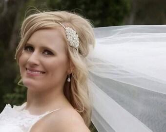 Weddings, Bridal Hair Piece, Rhinestone Headband, Crystal headband, Bridal Accessories, Wedding, Bridal, Rhinestone Hair Piece, Accessories
