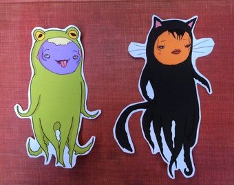 Octopus Iron-On Patches (Animals, Part 3)