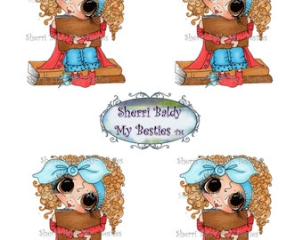 Instant Download dEC 1 Bestie 3D Decoupage Besties Big Head Dolls Digi By Sherri Baldy